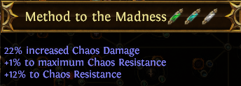 Method to the Madness PoE