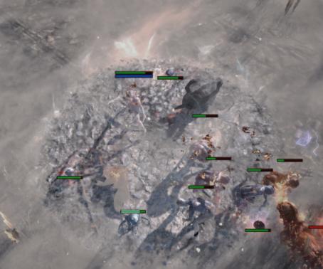 minions on the frozen ground