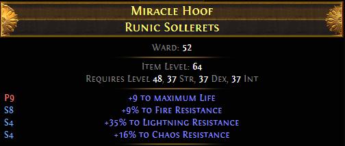 Miracle Hoof Runic Sollerets