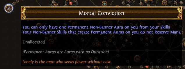 Mortal Conviction PoE