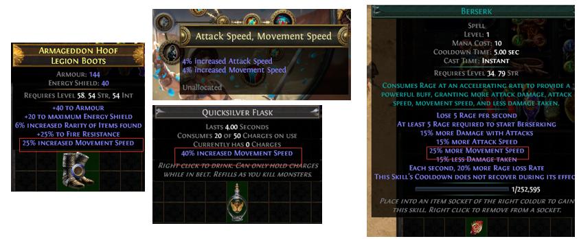 Movement Speed Cap