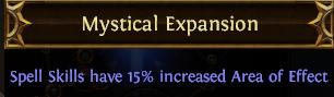 Mystical Expansion PoE
