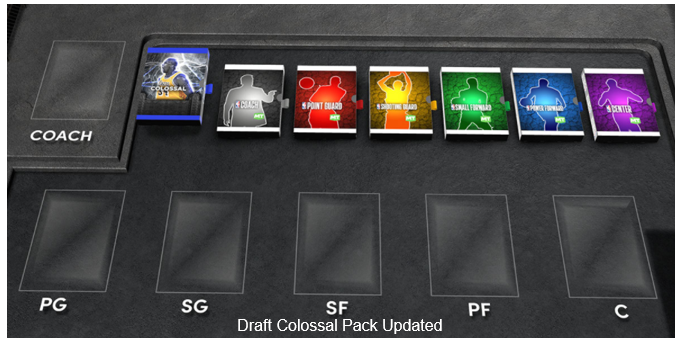 NBA 2K22 Draft Colossal Pack Updated