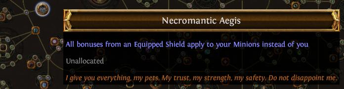 Necromantic Aegis PoE