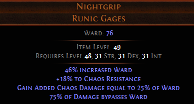 Nightgrip PoE