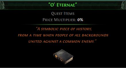 O' Eternal