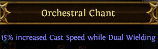 Orchestral Chant PoE