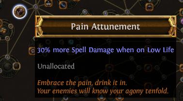 Pain Attunement PoE