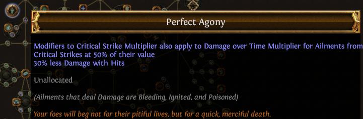 Perfect Agony PoE