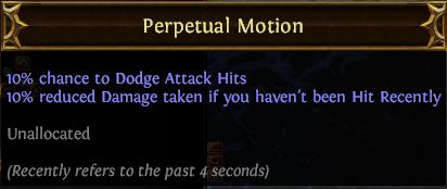 Perpetual Motion PoE