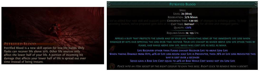 Petrified Blood Screenshots