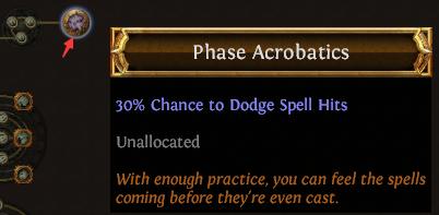 Phase Acrobatics PoE