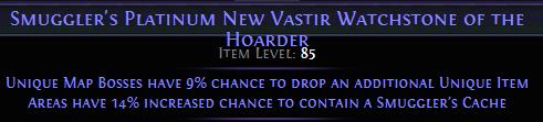 Platinum New Vastir Watchstone