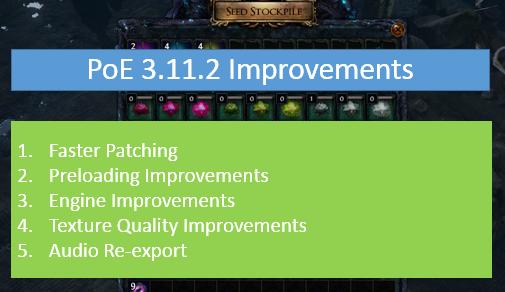 3.11.2 Improvements