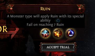 Complete PoE Ruin Challenge