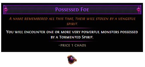Possessed Foe
