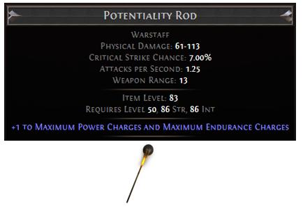 Potentiality Rod