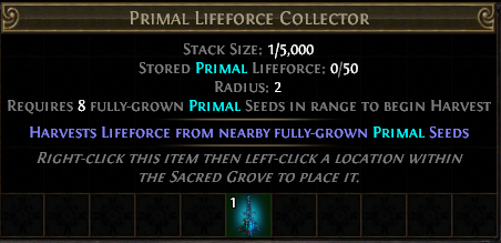 Primal Lifeforce Collector