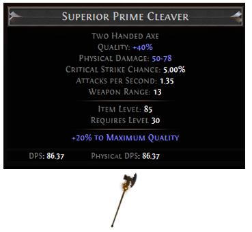 Prime Cleaver