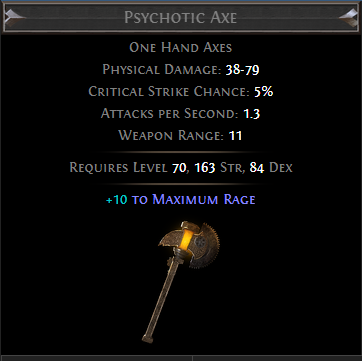 Psychotic Axe