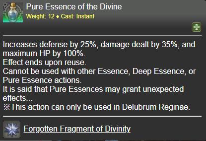 Pure Essence of the Divine FFXIV