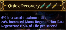 Quick Recovery PoE