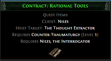 Contract: Rational Tools