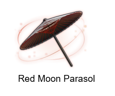 Red Moon Parasol