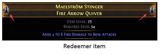 Redeemer item
