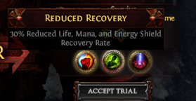 Reduced Recovery