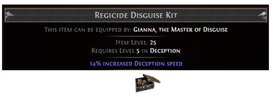Regicide Disguise Kit