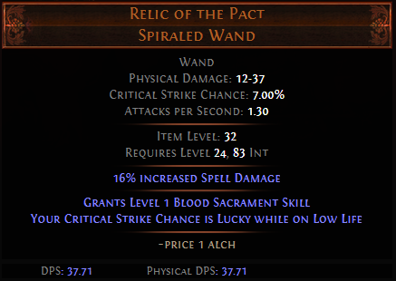 Relic of the Pact