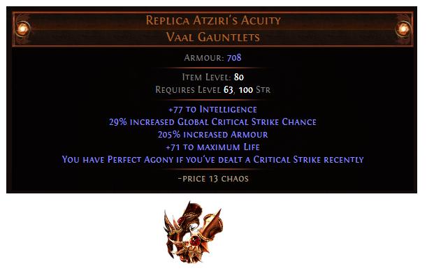 Replica Atziri's Acuity