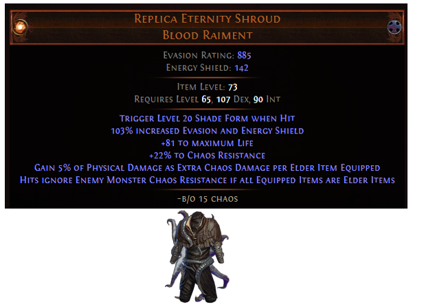 Replica Eternity Shroud