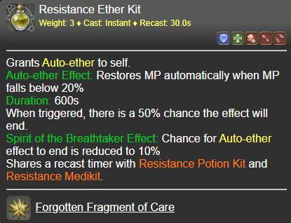 Resistance Ether Kit FFXIV