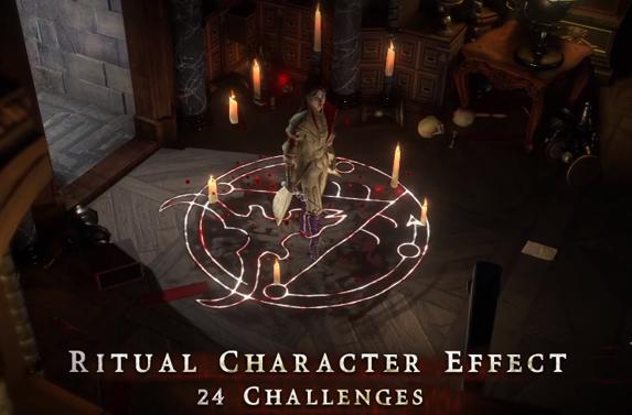 PoE Ritual Character Effect