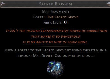 Sacred Blossom PoE