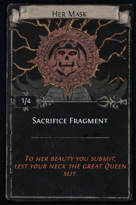 Sacrifice Fragments Card