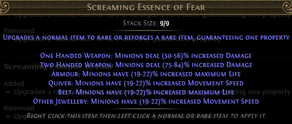 Screaming Essence of Fear