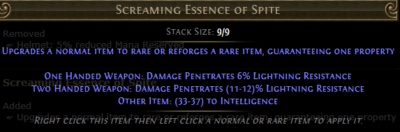Screaming Essence of Spite