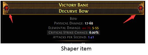 Shaper item