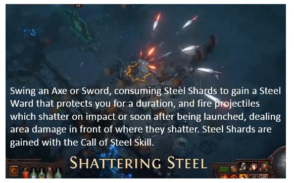 Shattering Steel Build