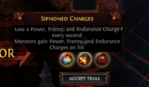 Siphoned Charges