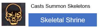 Skeletal Shrine PoE