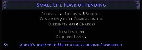 Small Life Flask