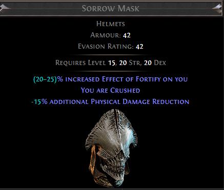 Sorrow Mask