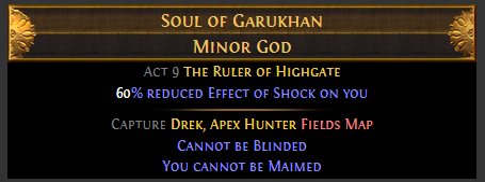 Soul of Garukhan