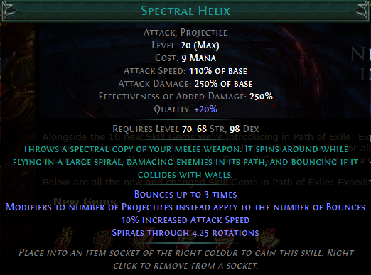 Spectral Helix Level 20 with 20% quality