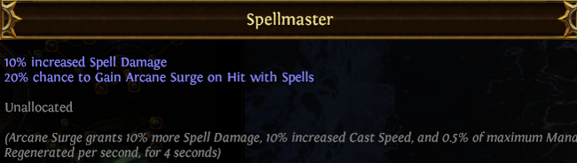 Spellmaster PoE