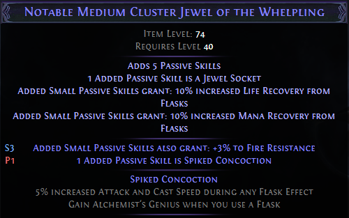 Spiked Concoction PoE